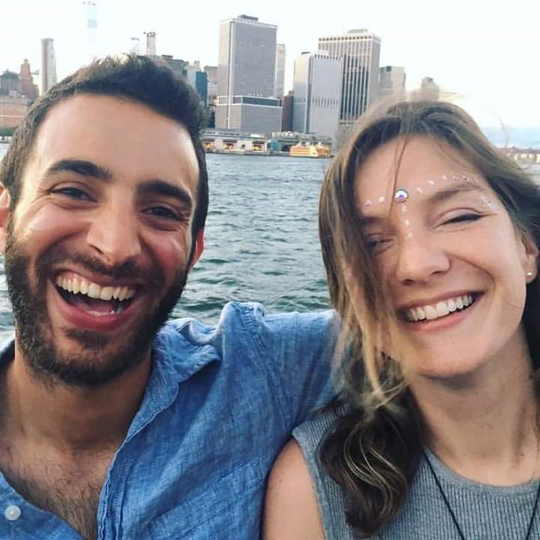 Melissa Witt, right, and her boyfriend, Carl Sednaoui, died in a plane crash in Londiani, Kenya, on Feb. 13, 2019.