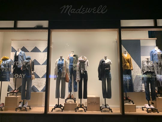 The Anchal Project of Louisville is now a featured product in Madewell boutiques across the United States and in London England.  The quilts in the window of this New York City store are examples of the Anchal Products featured.