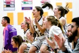 See some of the action and hear remarks from coach Bill McCullen and Annie McIntosh following DeWitt's CAAC Blue win on Feb. 18, 2019.