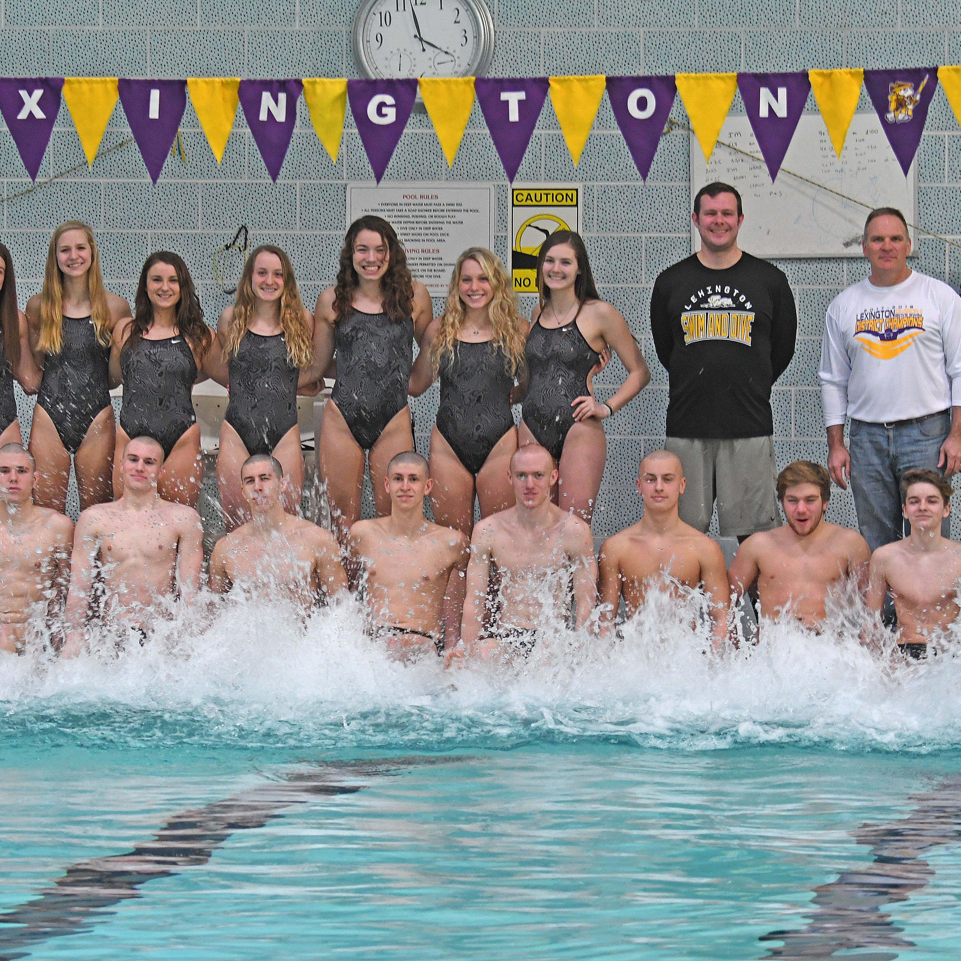 Topping itself: Lex swim team out to make history (again)