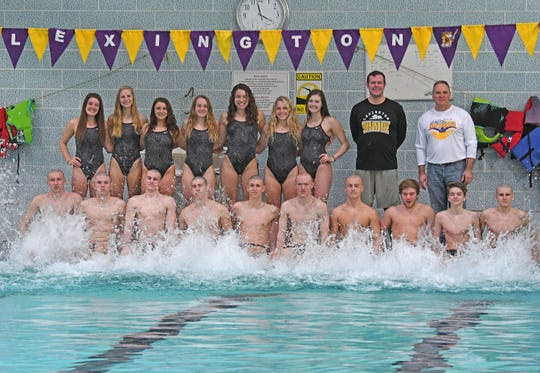 The Lexington swim team is poised to make a big splash in the state swim meet.