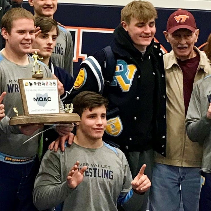 River Valley wrestler Mitchell Miracle returns, wins MOAC title