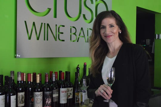 Judy Rosynek opened Crush Wine Bar in Waukesha in 2015 with her business partner, Paul Kwiecien.