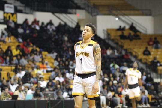 Grambling State guard Ivy Smith and the Tigers fell to Prairie View A&M in the SWAC tourney Friday.