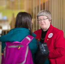 BSU's liaison to MCS retires, new council to assume duties