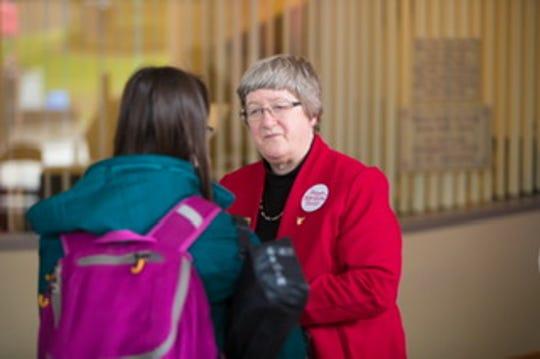 Marilyn Buck, Ball State's liaison to Muncie Community Schools, is retiring.