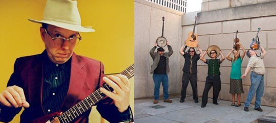 Webb Wilder, left, and The Secret Commonwealth will perform April 13 at Unchained at the Mill.