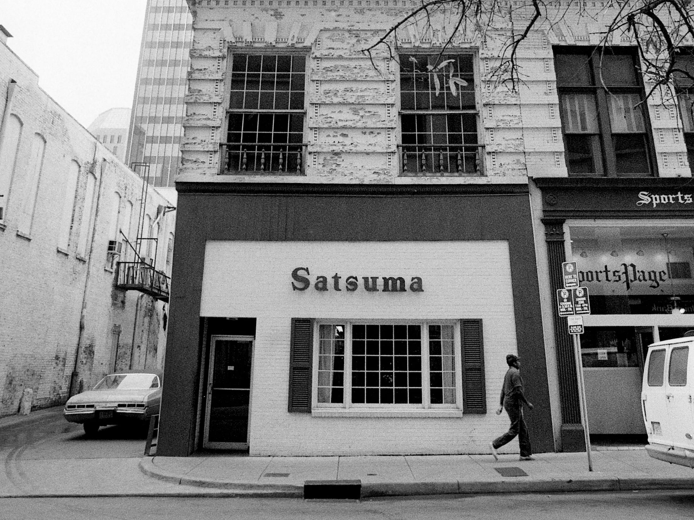 The popular lunch spot, Satsuma Tea room at 417 Union St. in downtown Nashville, is closed Oct. 30, 1985 as repairs are being made.