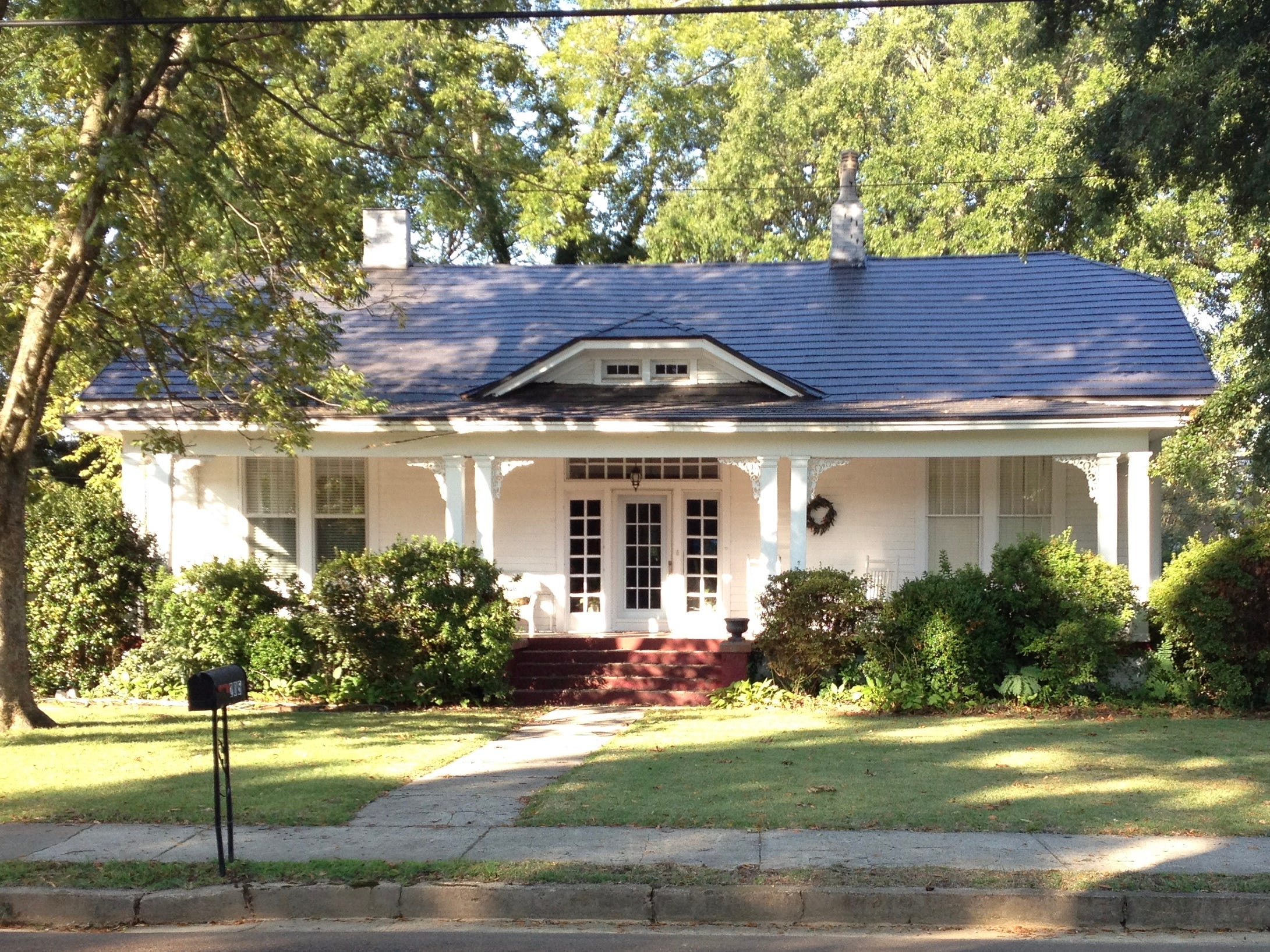 Ms. Cheap's grandparents' house in Mississippi had a wonderful front porch. Now Ms. Cheap is having a contest looking for great ideas for spiffying up your porch or patio or even a balcony.  Send her your best ideas.