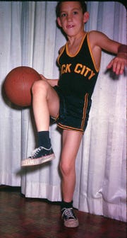 Belmont coach Rick Byrd as a youngster.