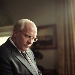 """Christian Bale as Dick Cheney in the film """"Vice."""""""