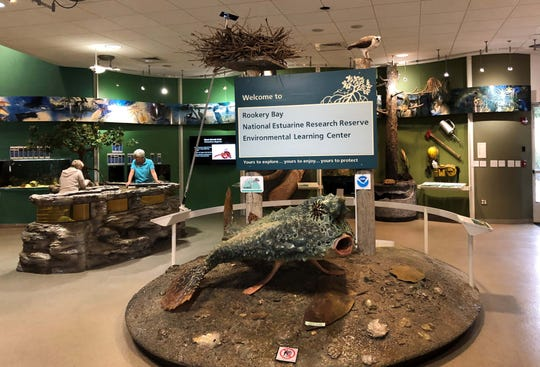 Rookery Bay National Estuarine Research Reserve welcome center.