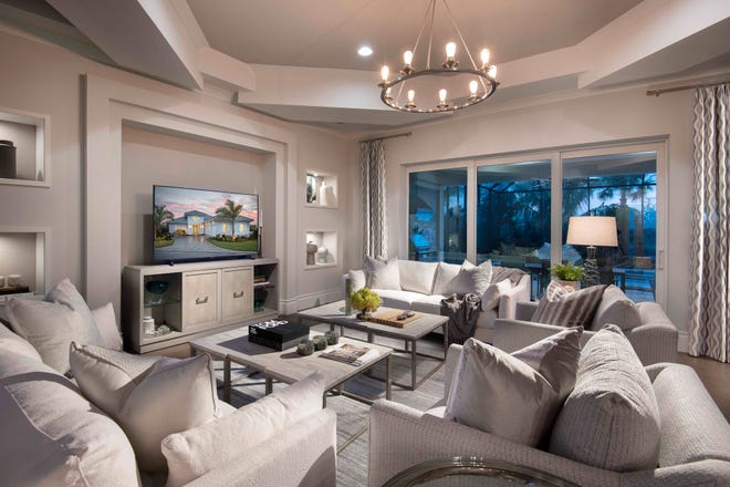 Cambria model has 2,627 sq. ft. of living area.