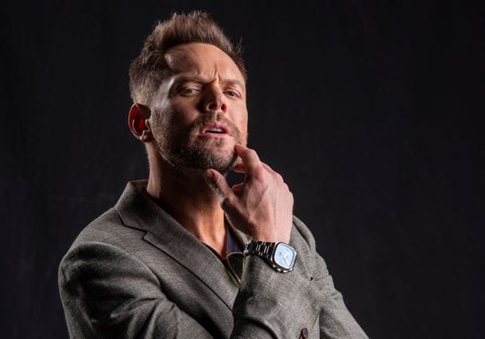 "Comedian/TV host Joel McHale is known for his E! show ""The Soup"" that ran from 2004 to 2015."