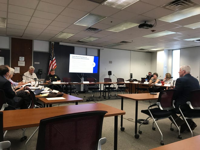 Collier County's newly-formed mental health and addiction ad hoc advisory committee met Tuesday, Feb. 19, 2019, at the Collier County government center to discuss the challenges the county faces as a mental health and addiction crisis continues to grow.