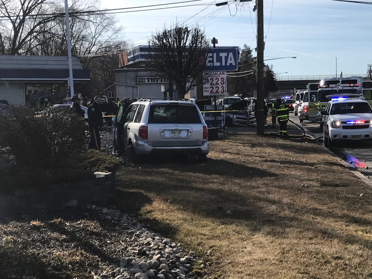 Wayne NJ crash: Driver arrested