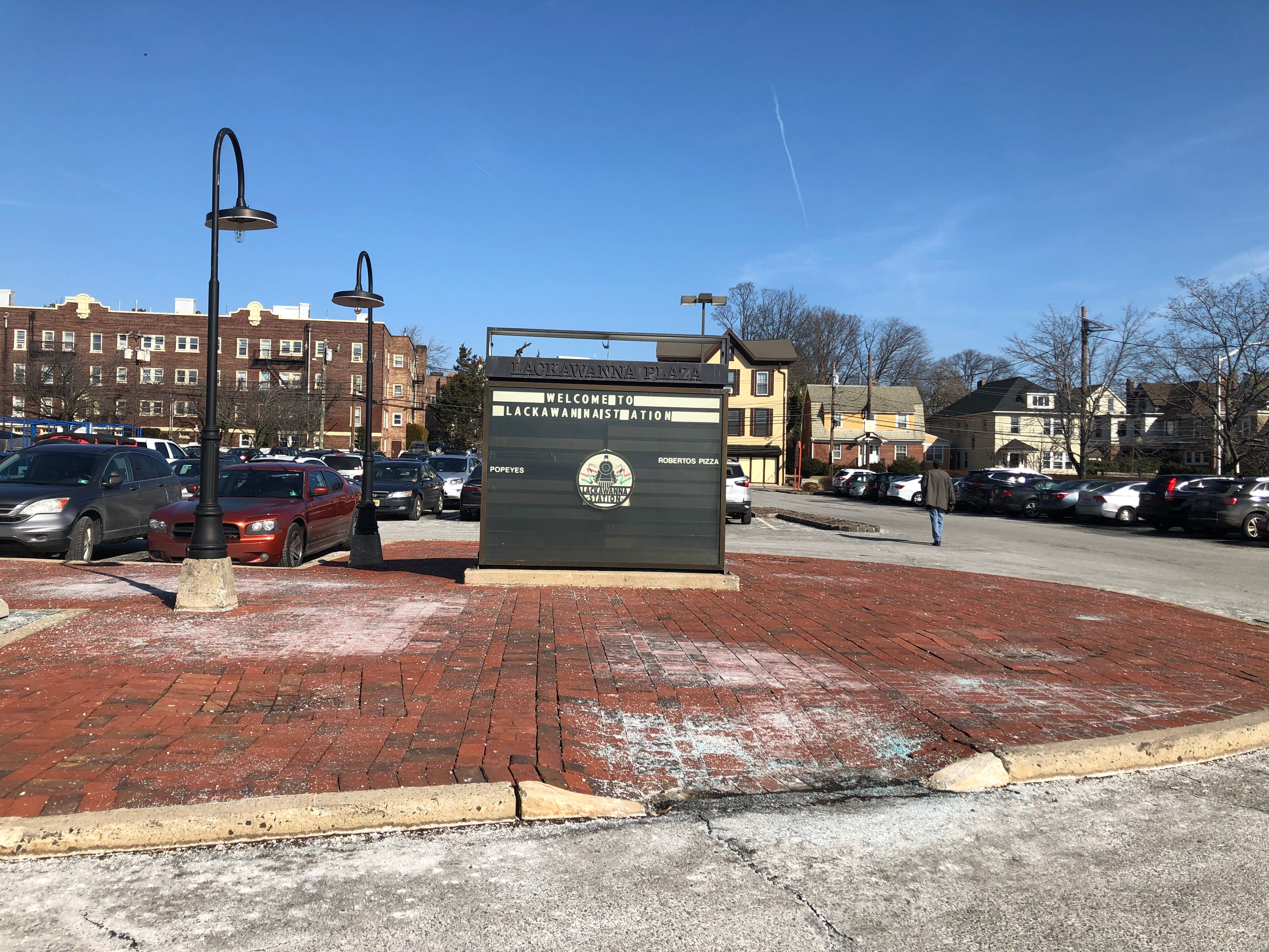 The Lackawanna Station south parcel, across Grove Street, will contain 154 apartments.