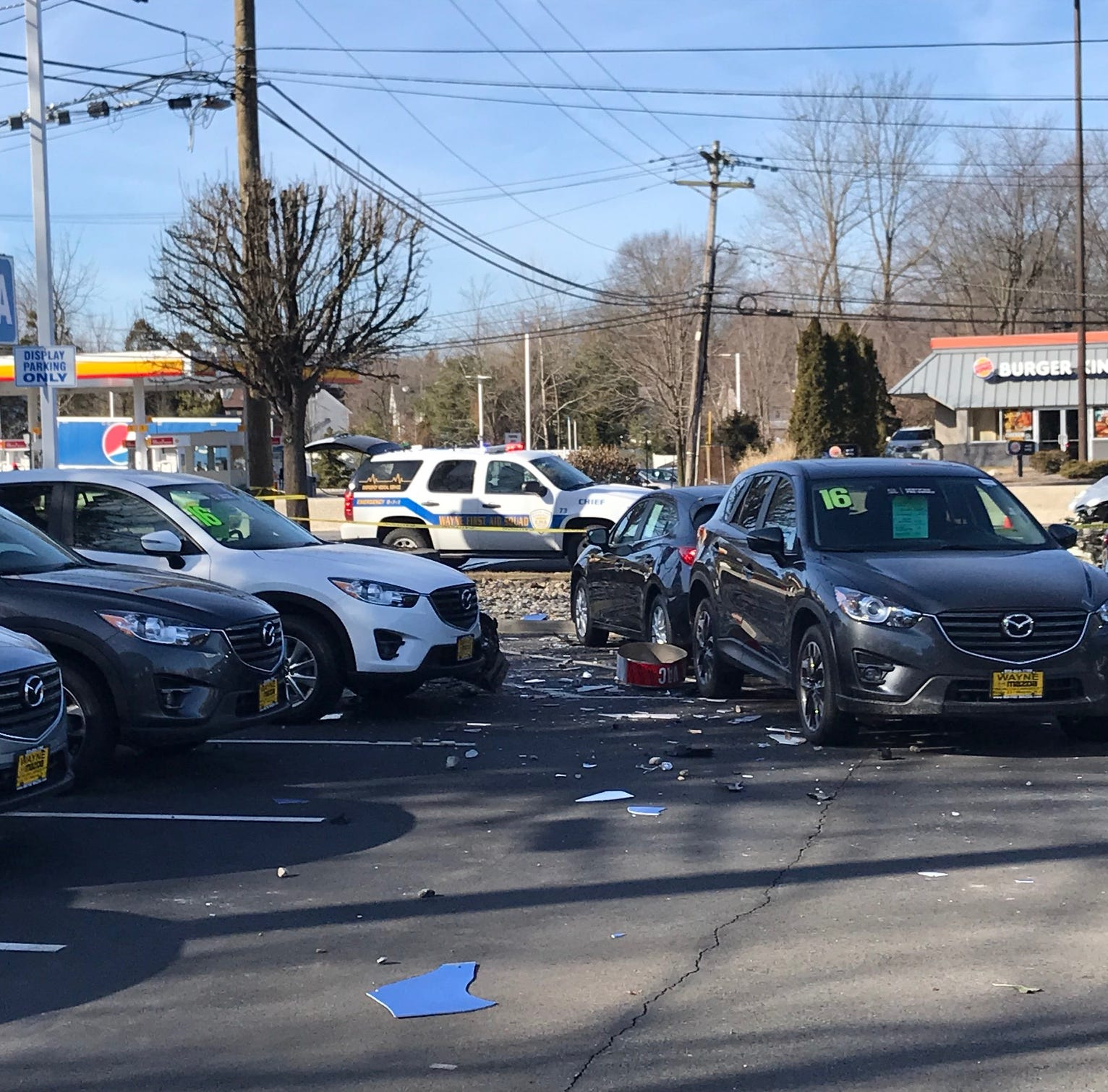 Multi-car crash at Delta gas station causing delays on Rt. 23 in Wayne
