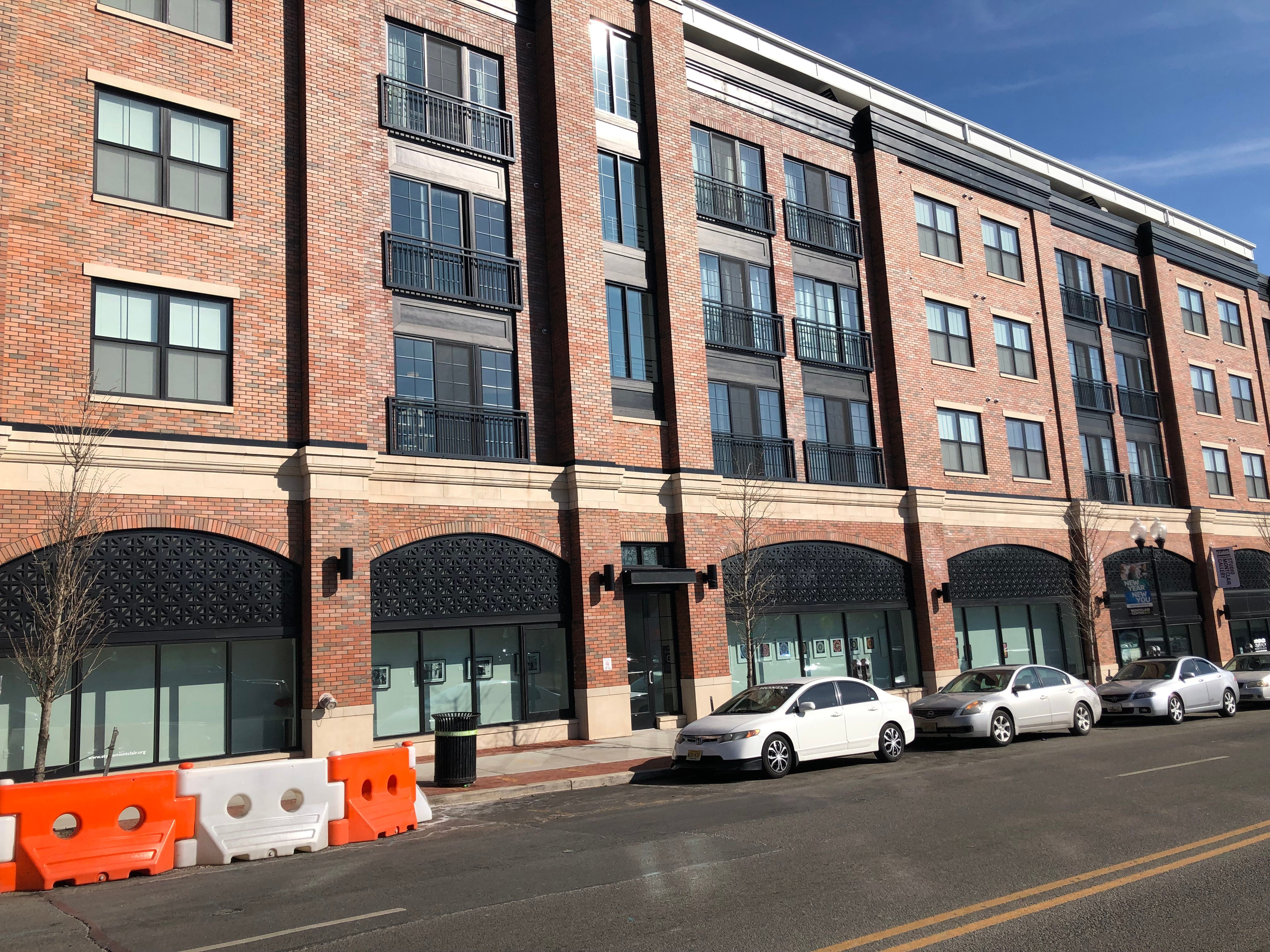 The recently completed Montclairion II on Bloomfield Avenue next to the Vestry and just south of Lackawanna Plaza contains 40 residential units and 1,410 square feet of commercial space. February 2019.