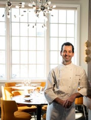 James Laird, Chef/Owner of Serenade poses for a photo at the restaurant in Chatham on Tuesday February 09, 2019.