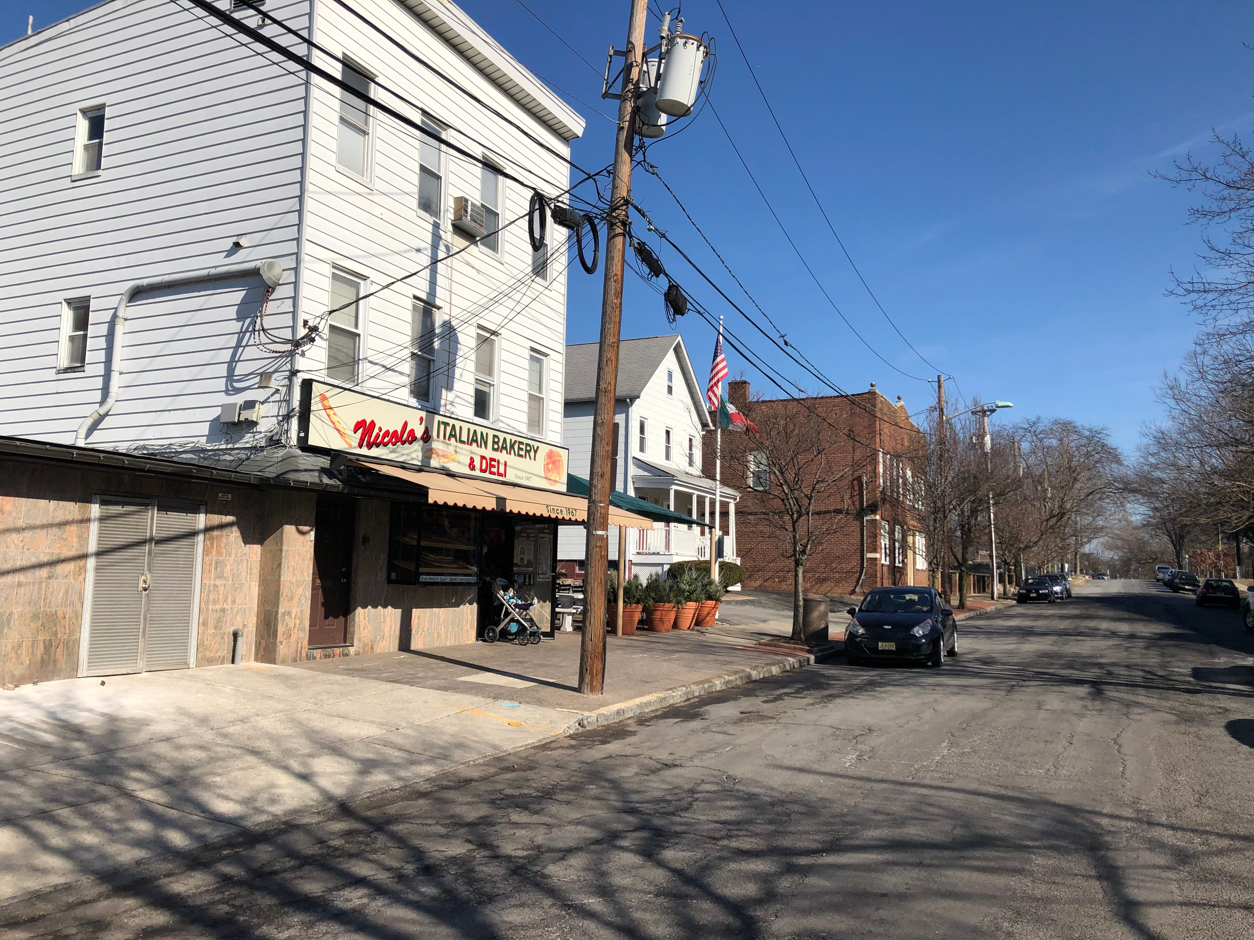 Nicolo's Italian Bakery & Deli at 6 Baldwin St. in Montclair is a holdover from the days when the area was populated by Italian immigrants. A new luxury residential building is being built a few hundred yards down Baldwin Street.