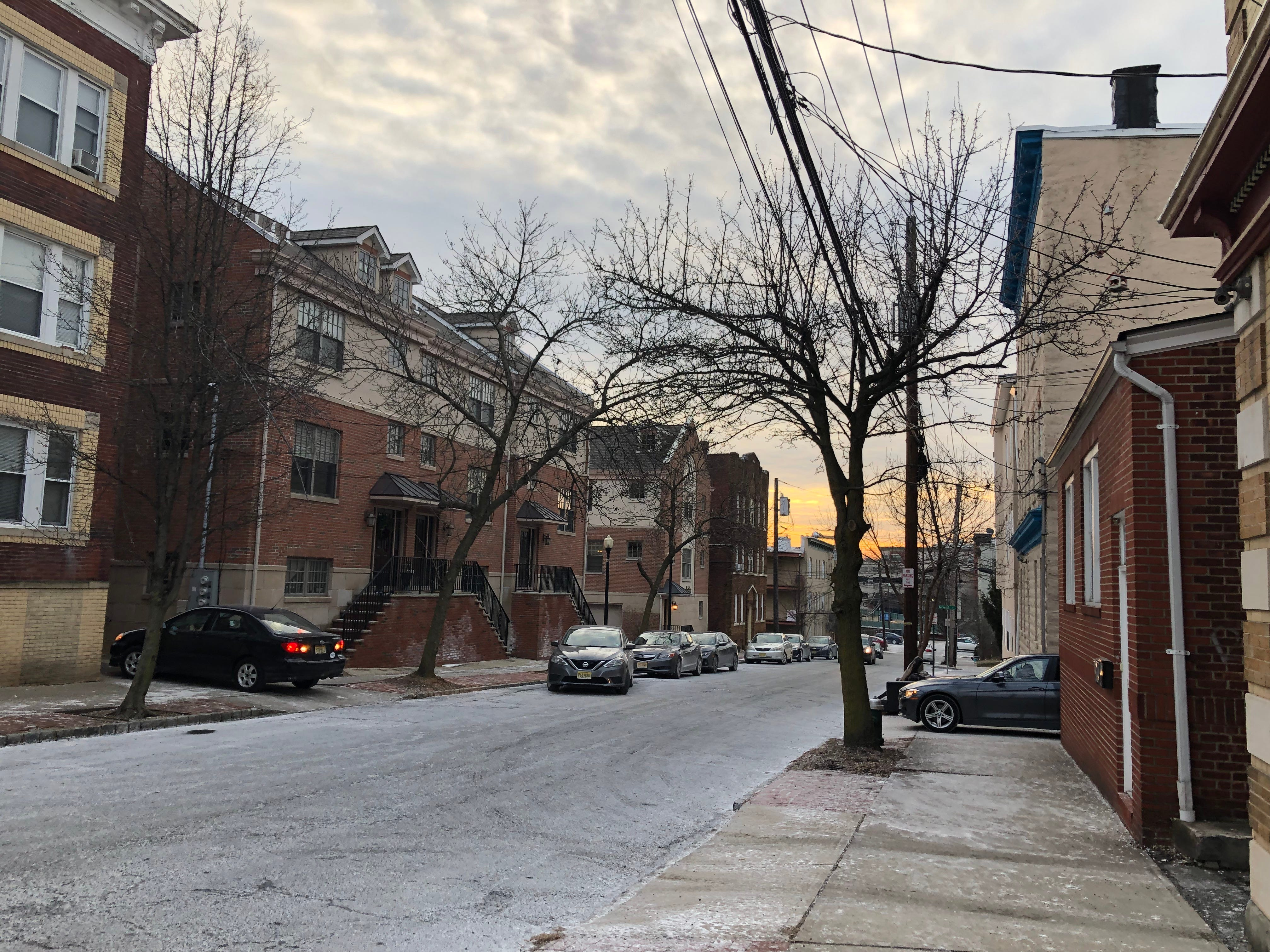 Baldwin Street in Glen Ridge, just behind Bay Street Station, is the site of a new development that will bring 110 more apartments to the area.