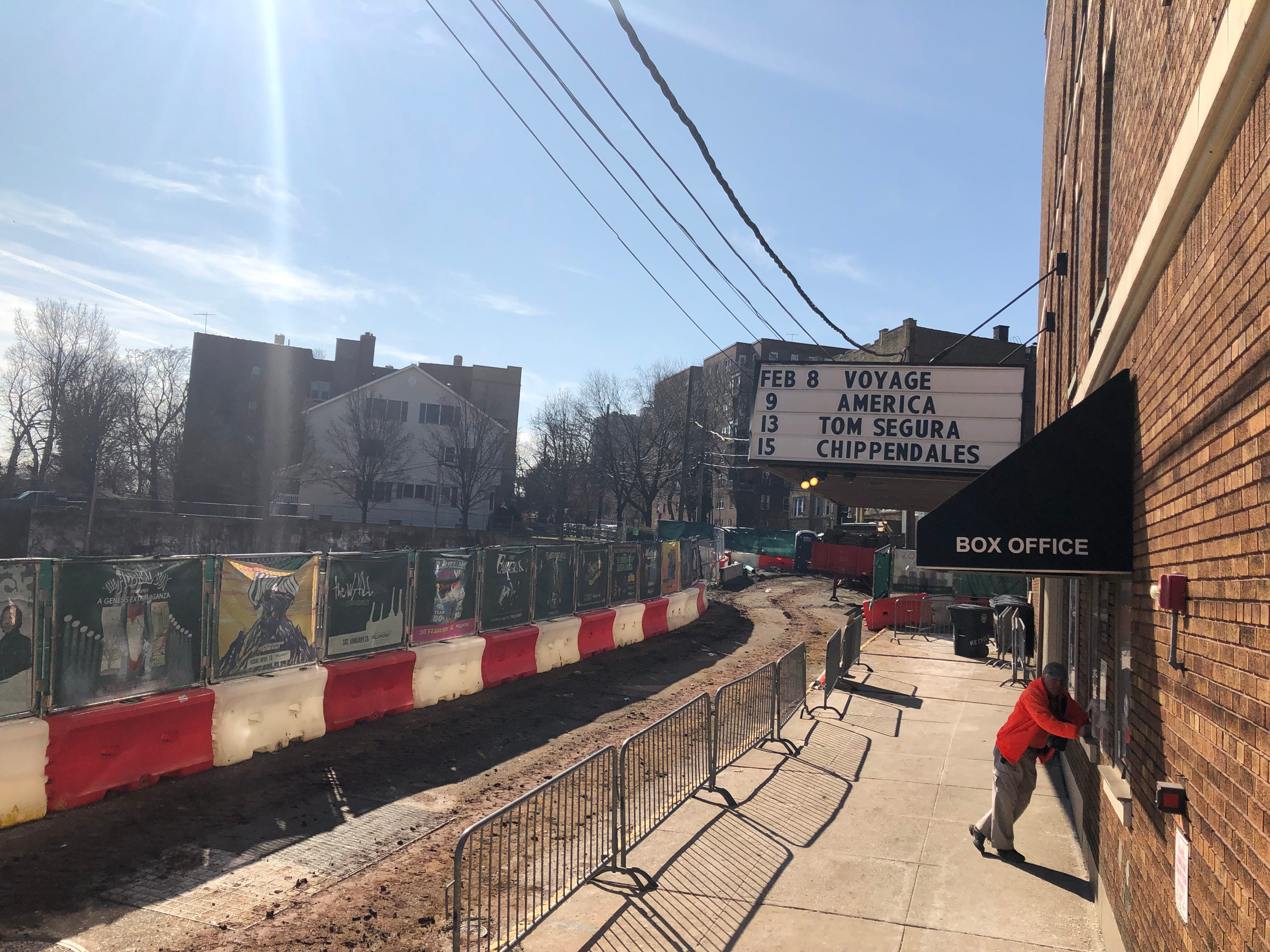 The historic Wellmont Theatre on Seymour Street will be the focal point for a 2.2 acre redevelopment project there. When completed in 2020 it will include two new buildings with 200 apartments and 75,825 square feet of commercial space.
