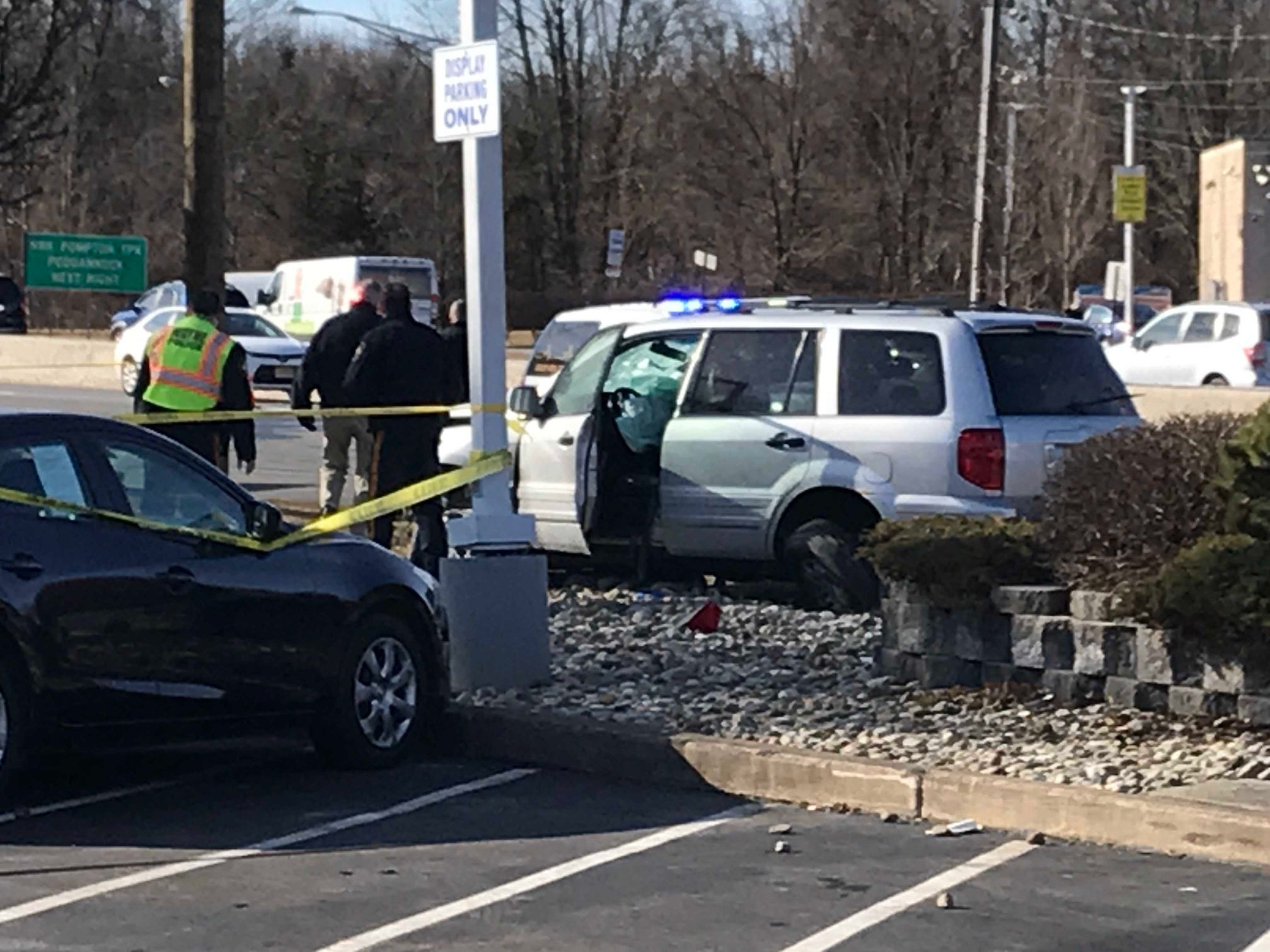 The airbag deployed on one of the vehicles involved in a serious collision on Route 23 in Wayne.
