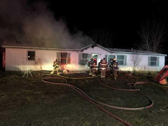The San Juan County Sheriff's Office identified 47-year-old Gordon Jones as the person found deceased inside this residence east of Bloomfield on Jan. 26 following a house fire that investigators say is now being investigated as possibly suspicious.