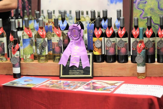 Award winning wines could be samples throughout the Vines in the Pines. Local wineries are receiving more awards on a nation level than ever before.