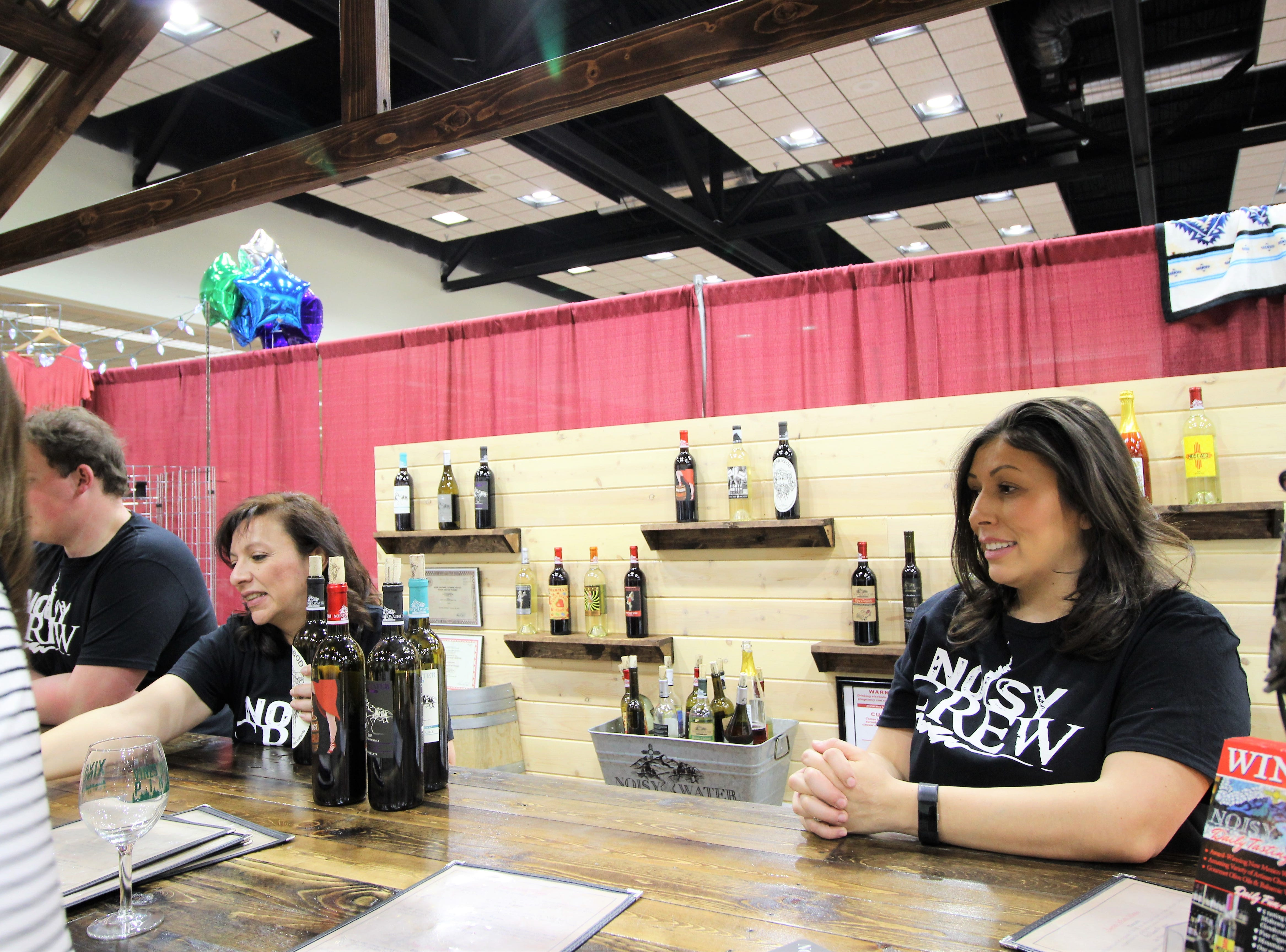 Noisy Water Winery provided new flavors this year with the big hits being on Mango and Berry flavors.