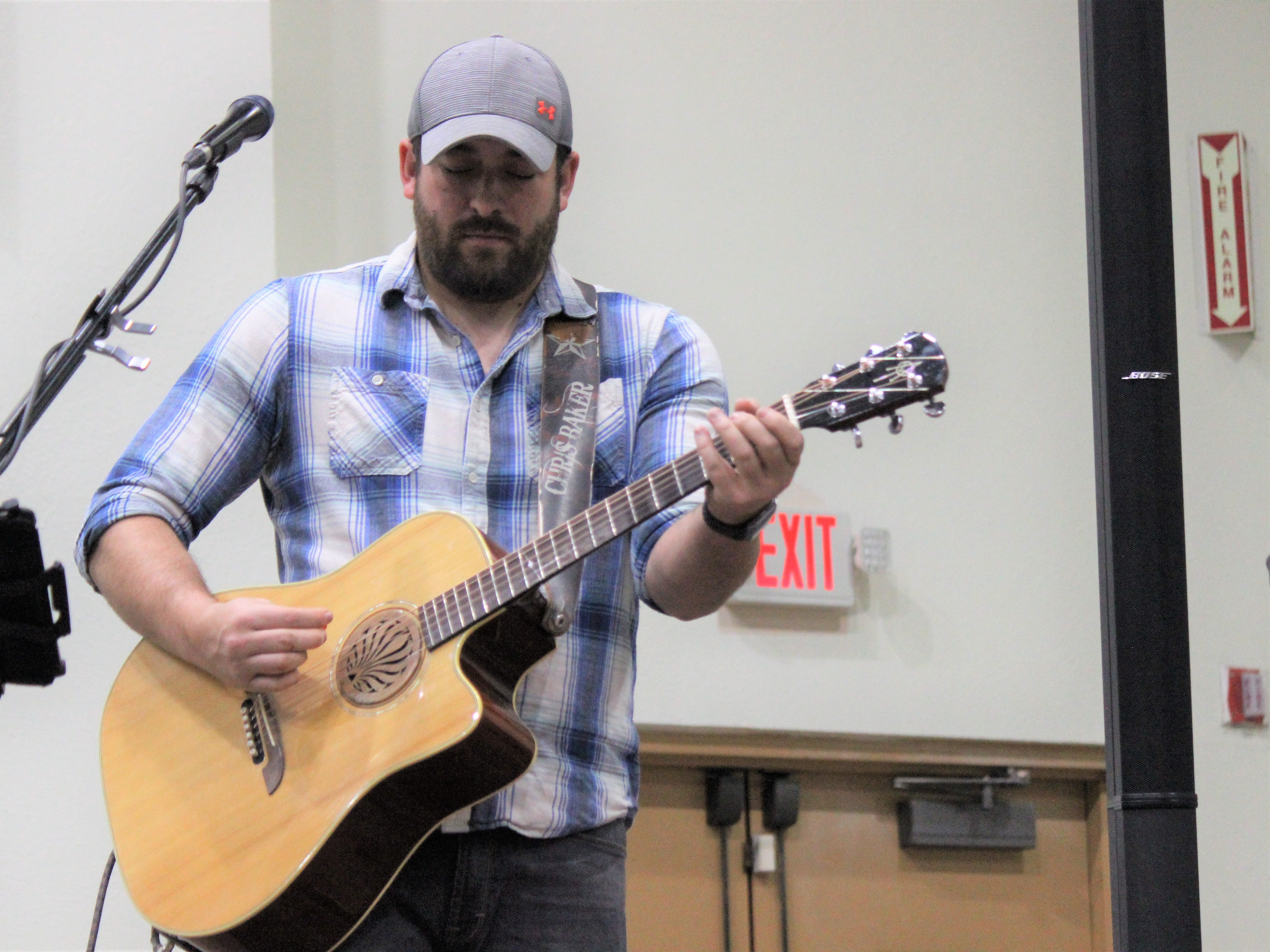Chris Baker performs at the 2019 Vines in the Pines. An addition the the event that the Chamber hopes to continue.