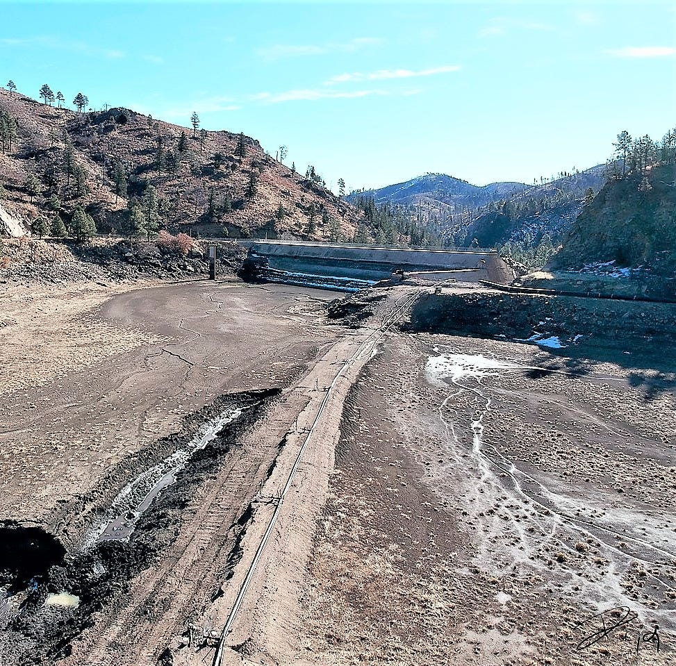 Work at Bonito Lake on schedule for March 2020 completion