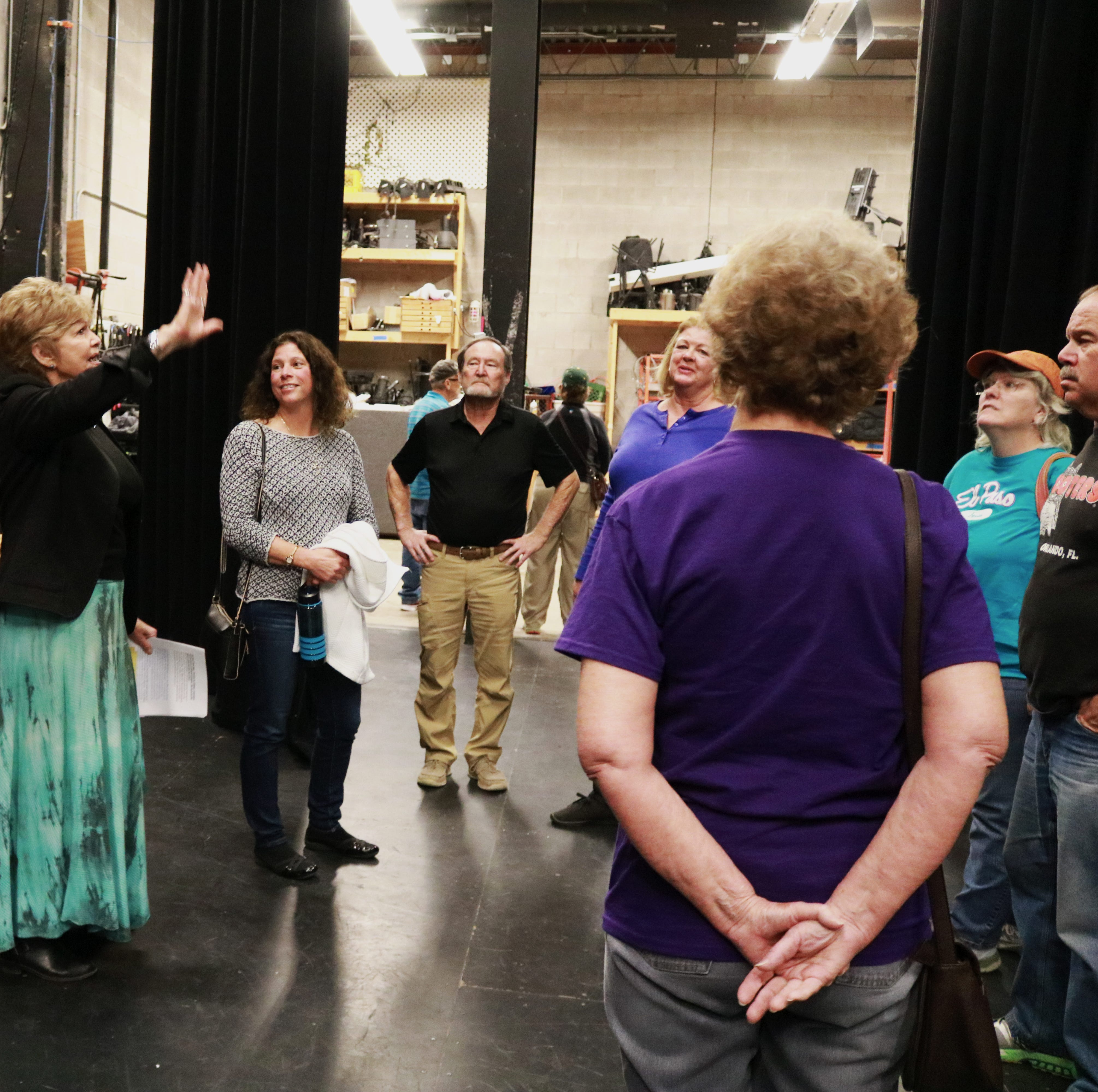Flickinger Center for Performing Arts launches behind the scene tours
