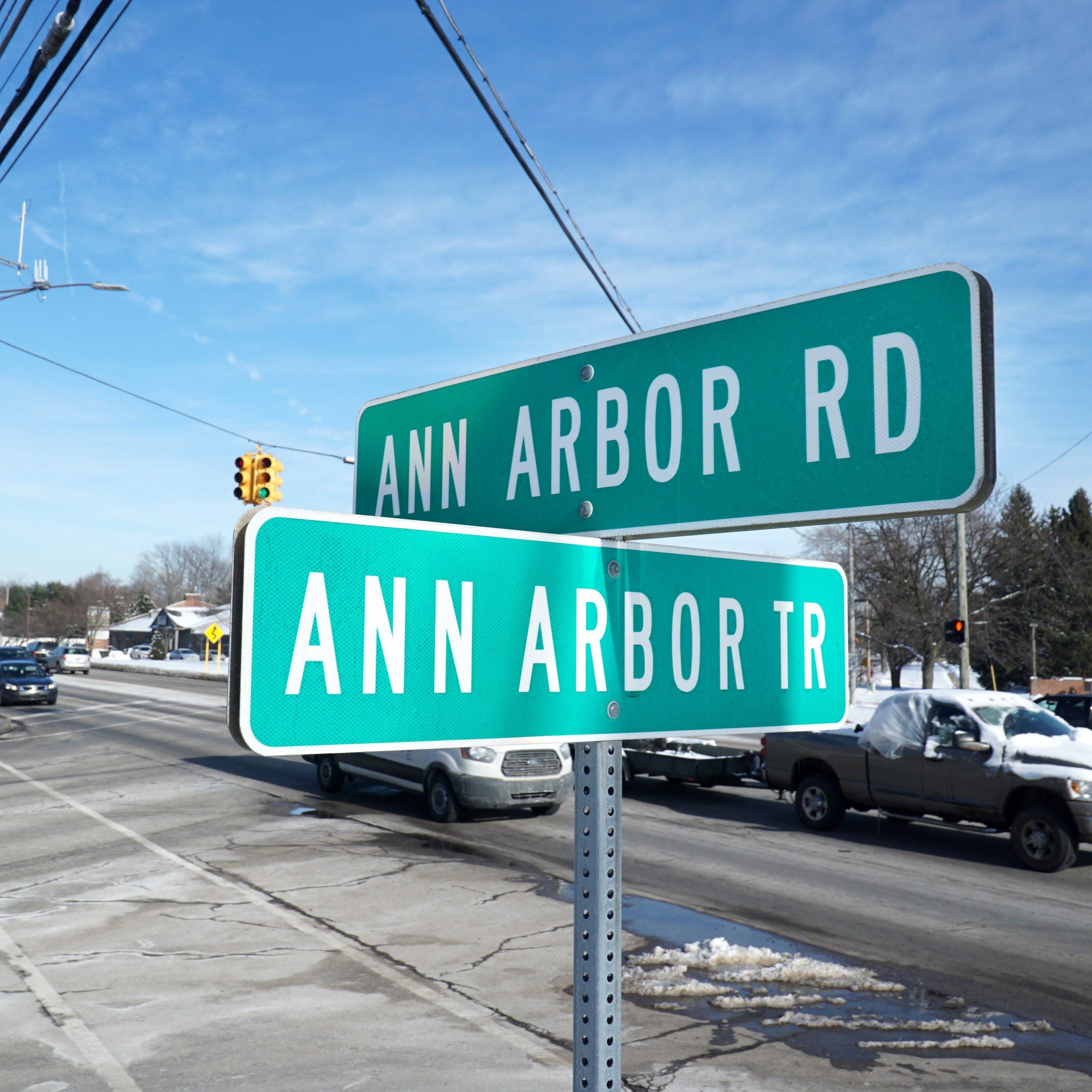 Ann Arbor Trail in Livonia seeing construction this summer
