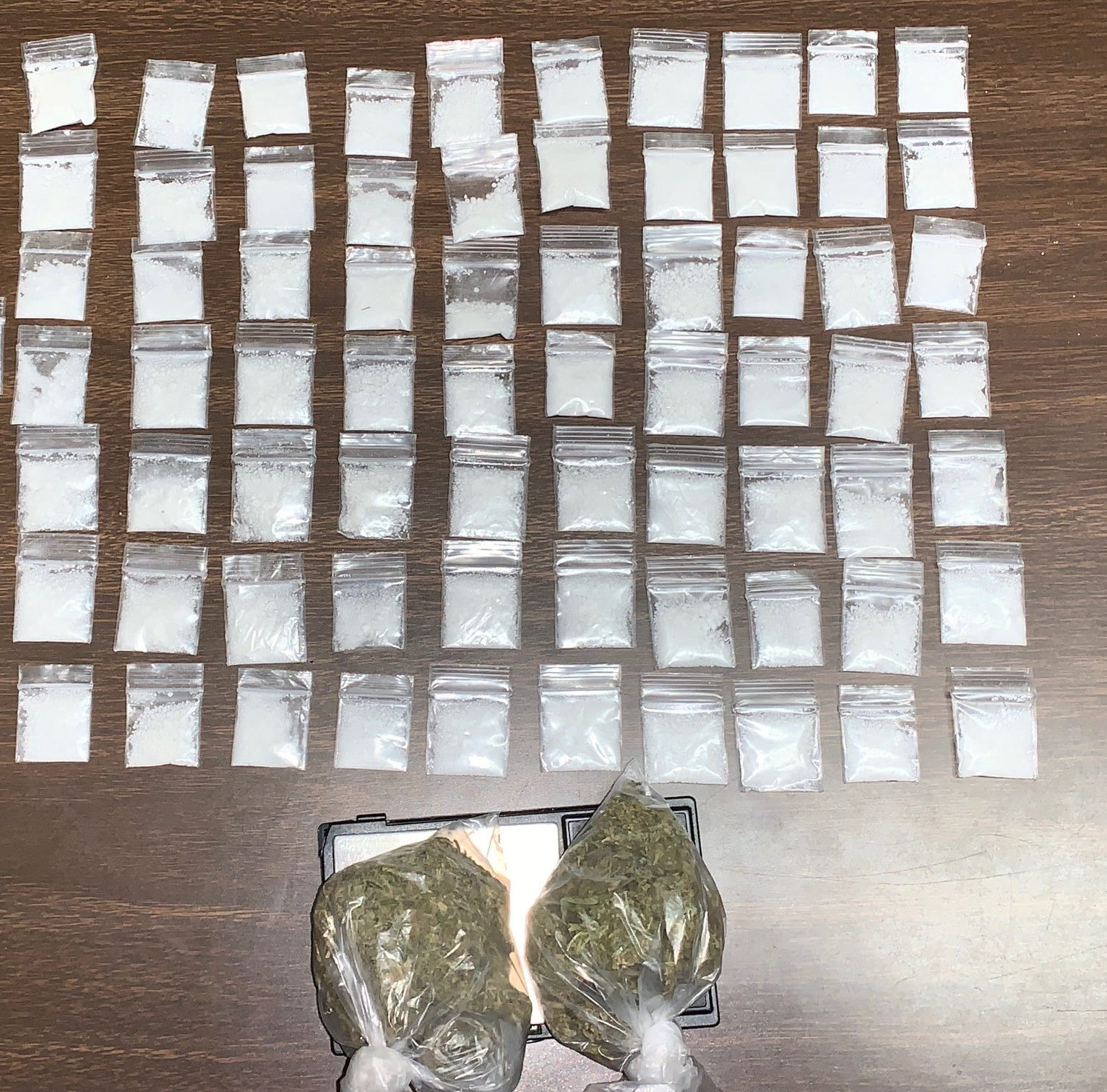 One arrested for drug possession following traffic stop