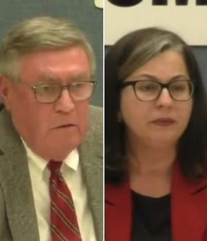 Steve Cummings and Lori Palmeri will face off in the April election for Oshkosh mayor.