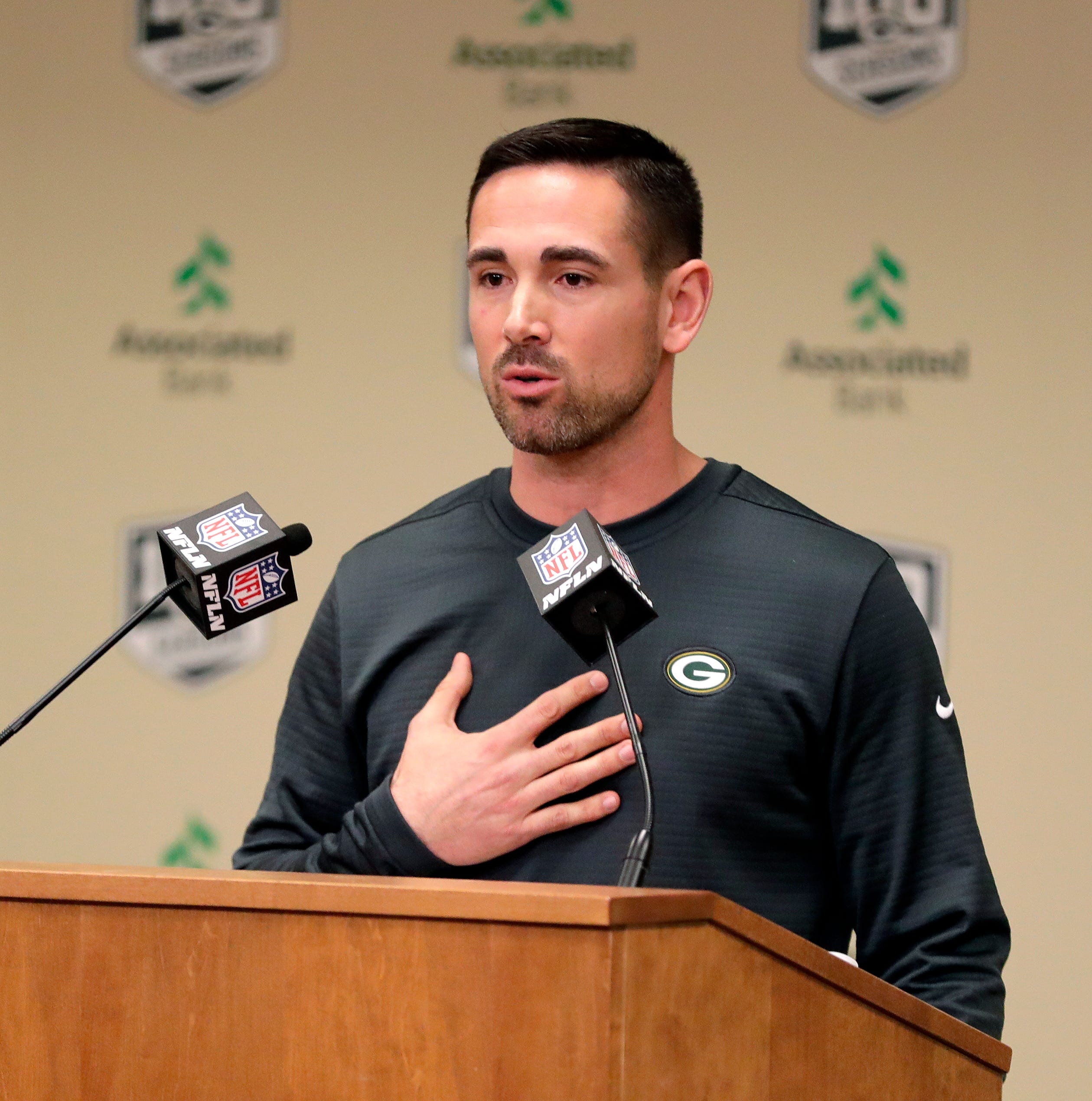 Packers notes: New head coach brings brighter look to Lambeau Field