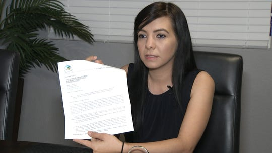 Rosa Montoya, whose brother Gabriel has become the center of a grade-change controversy at Coachella Valley High School