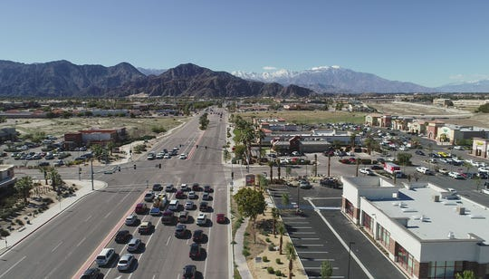 La Quinta's retail corridor along Highway 111 is largely comprised of big box stores. City leaders say that model is outdated, and change is necessary to maintain its economic viability.