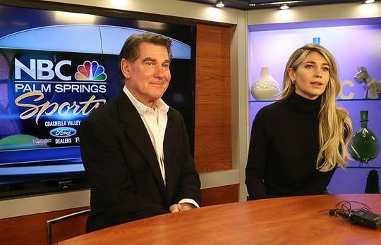 Olivia Garvey is the new sports reporter for NBC Palm Springs, she is the daughter of famed baseball player Steve Garvey.