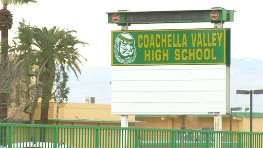 Coachella Valley High School, in Thermal, California