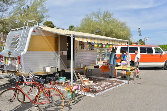The Vintage Trailer Show at Modernism Week in Palm Springs