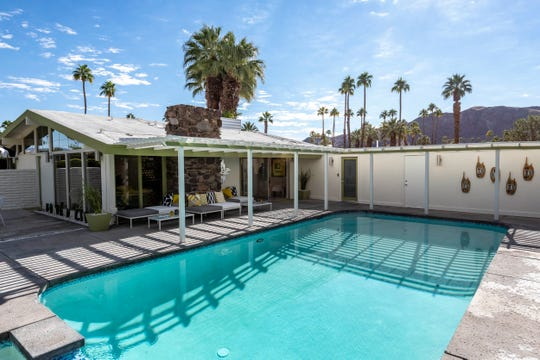 H3K's Green Gables home, featured at Modernism Week 2019