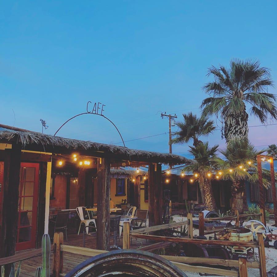 Kitchen in the Desert, Twentynine Palms.