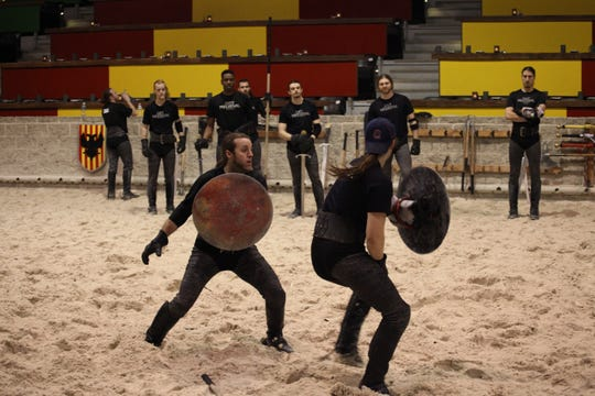 Knights train at a Medieval Times arena. The entertainment chain will open a Scottsdale venue in 2019.