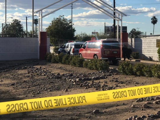 Phoenix police were investigating after a small child was critically injured when hit by a vehicle near Watkins Road and Third Drive in Phoenix on Feb. 19, 2019.