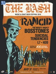 The Bash tour poster
