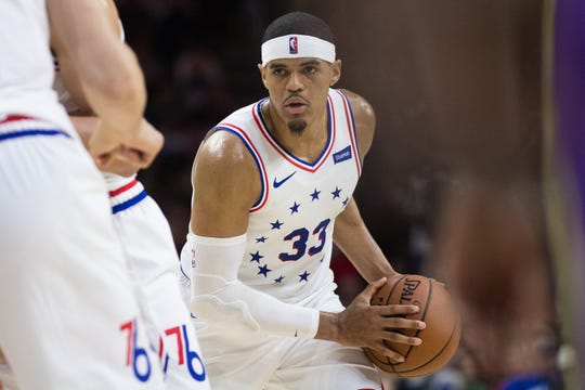 Philadelphia 76ers forward Tobias Harris is the top potential free agent in the NBA at the power forward position in 2019.