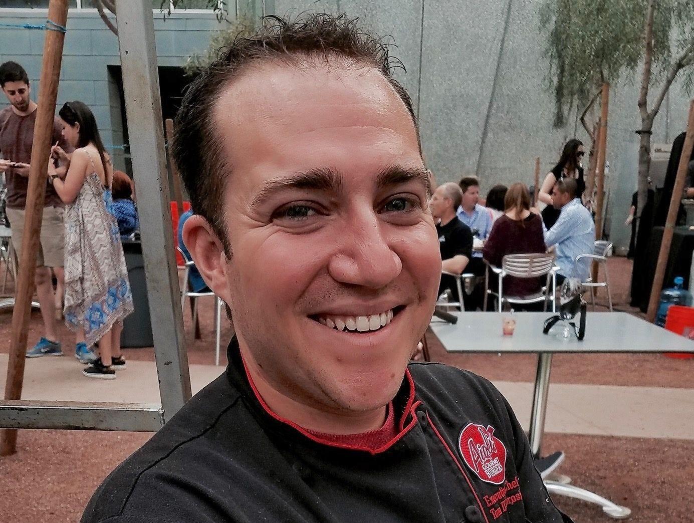 Thomas D'Ambrosio of Aioli Gourmet Burgers